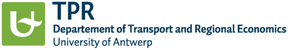 department transport regional economics universiteit antwerpen